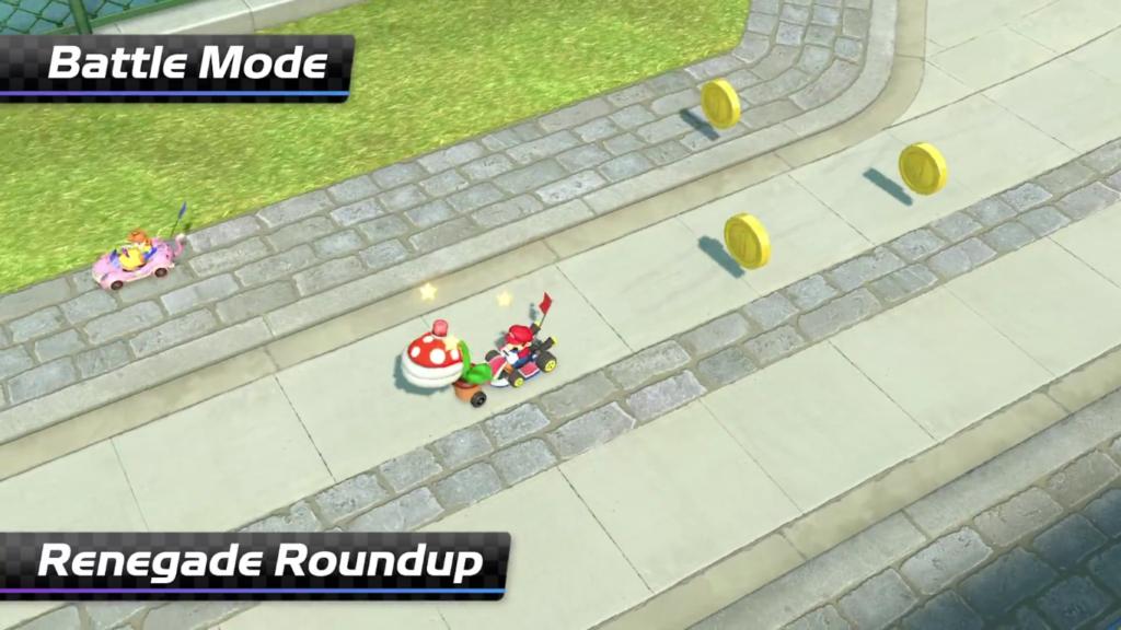 Mario Kart 8 Deluxe Plante Piranhas Contre Espions 2