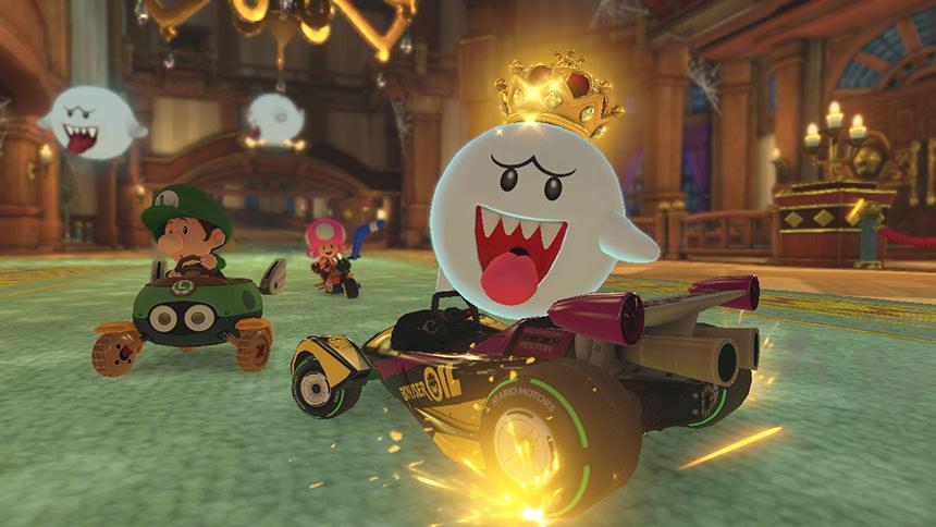 Mario Kart 8 Deluxe Roi Boo