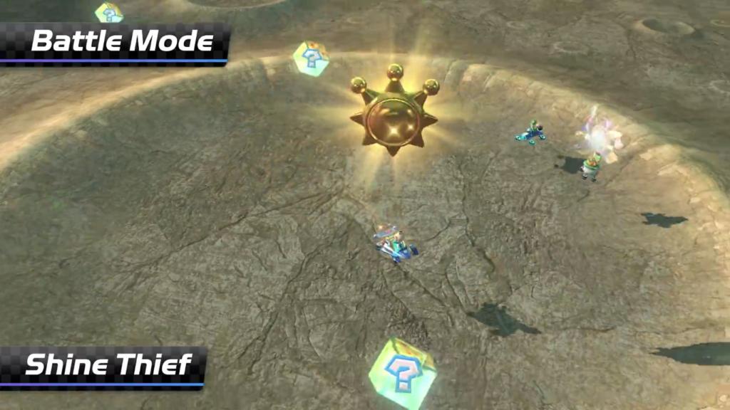 Mario Kart 8 Deluxe Voleur de Soleil