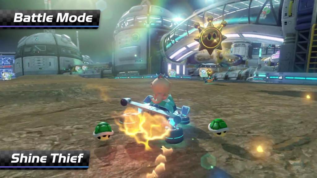 Mario Kart 8 Deluxe Voleur de Soleil 2