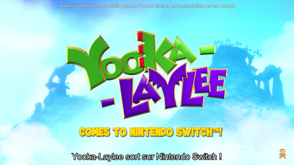 Nindies Yooka-Laylee