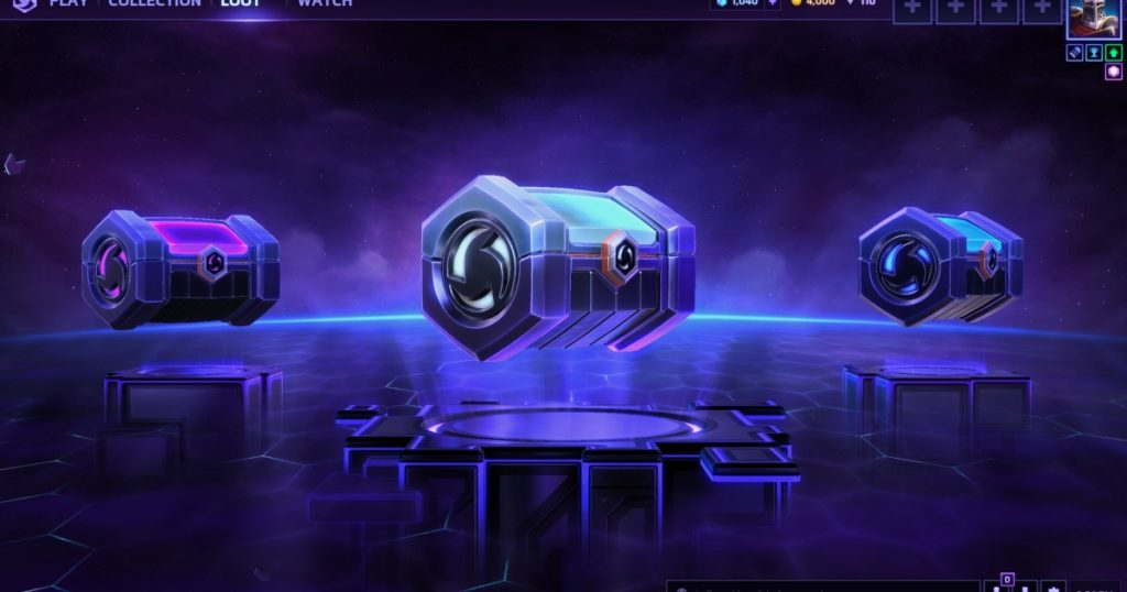 coffre heroes of the storm