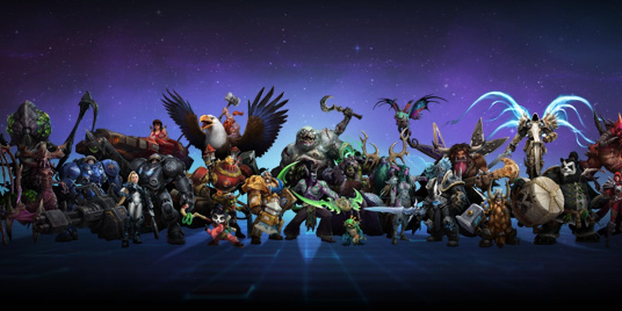 heroes of the storm heros