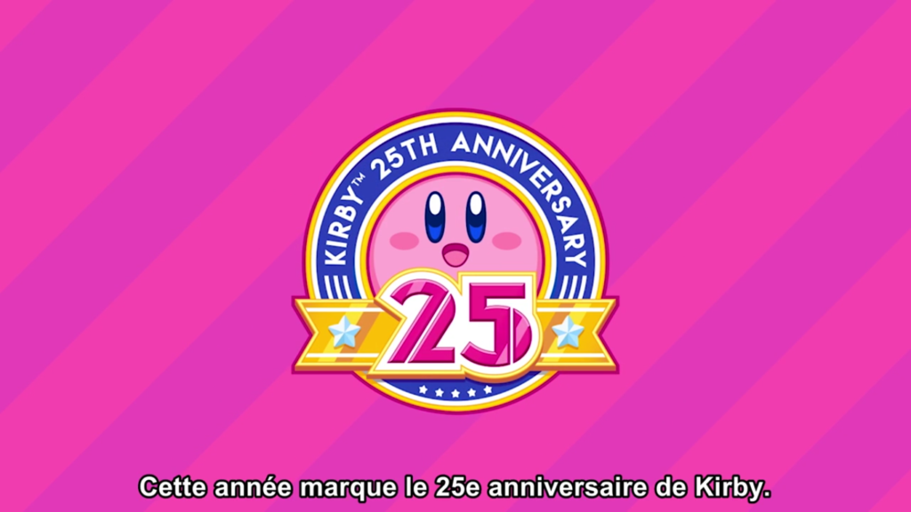 Nintendo Direct 25 ans Kirby
