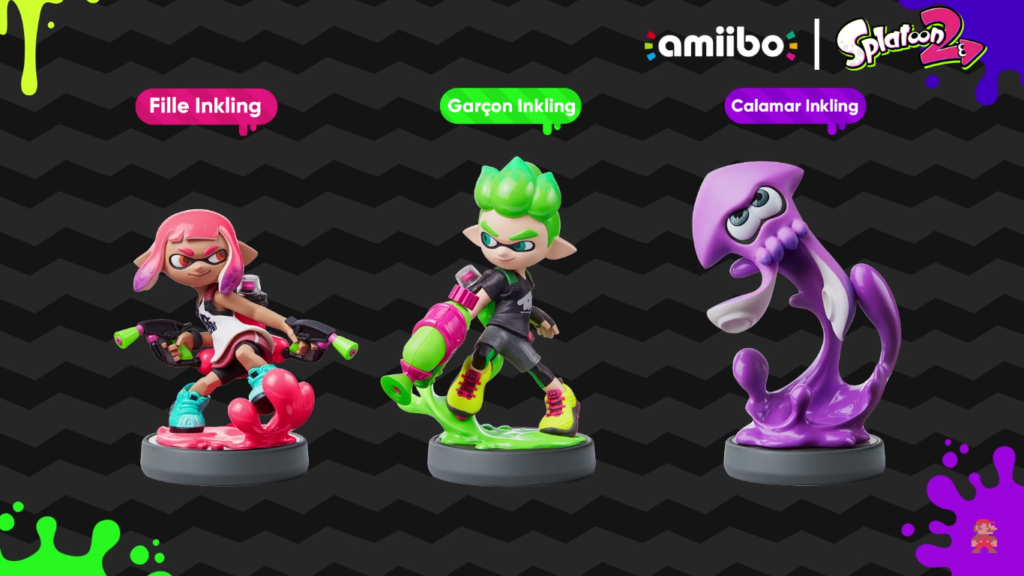 Nintendo Direct Amiibo Splatoon