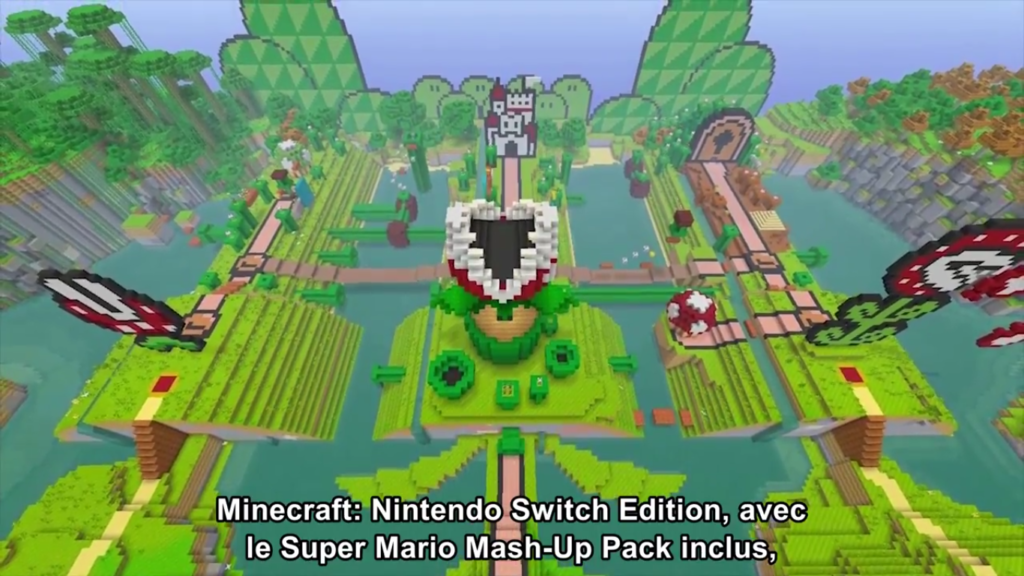 Nintendo Direct Minecraft Switch édition