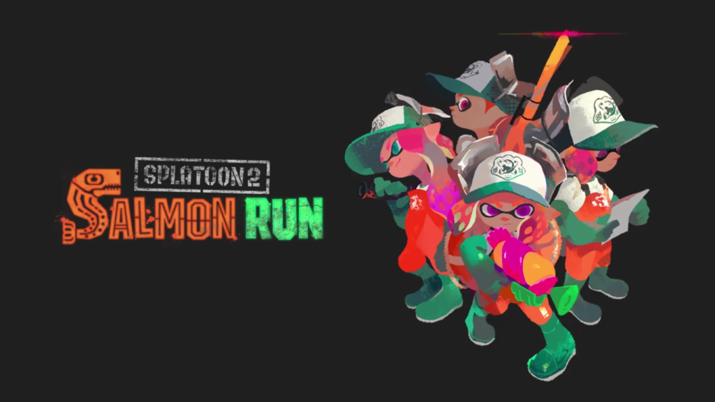 Nintendo Direct Splatoon 2 Salmon Run
