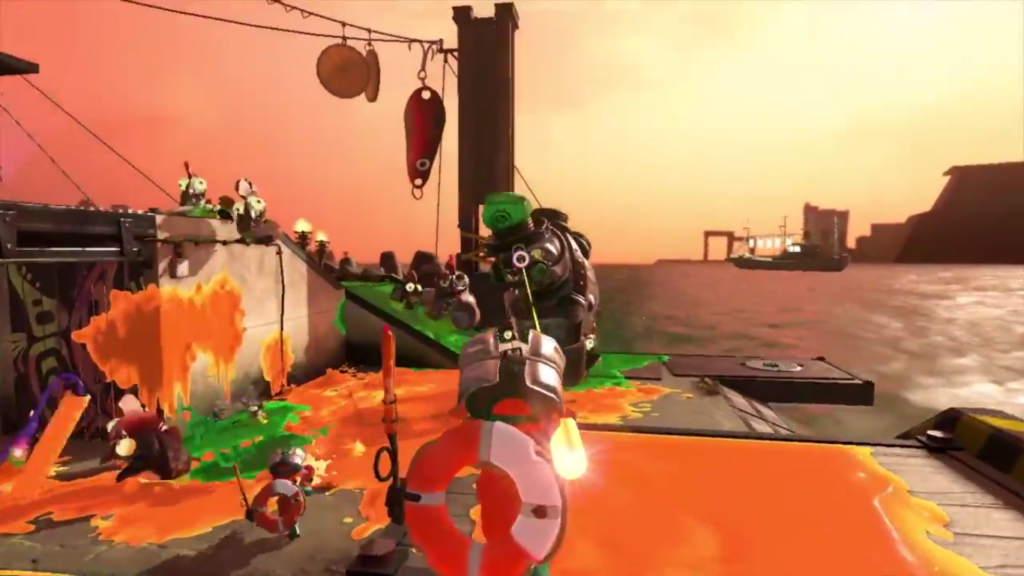 Nintendo Direct Splatoon 2 Salmon Run Boss