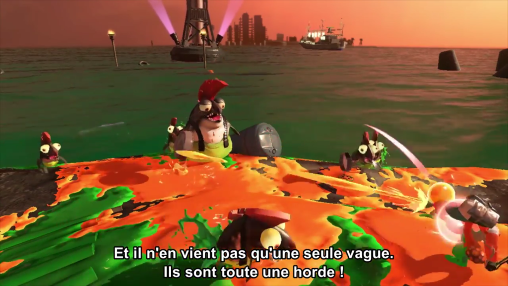 Nintendo Direct Splatoon 2 Salmon Run horde