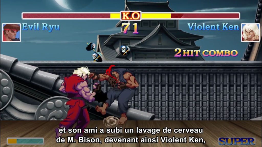 Nintendo Direct Street Fighter II Nouveaux Personnages