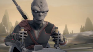 Star Wars Rebels - Alien inconnu