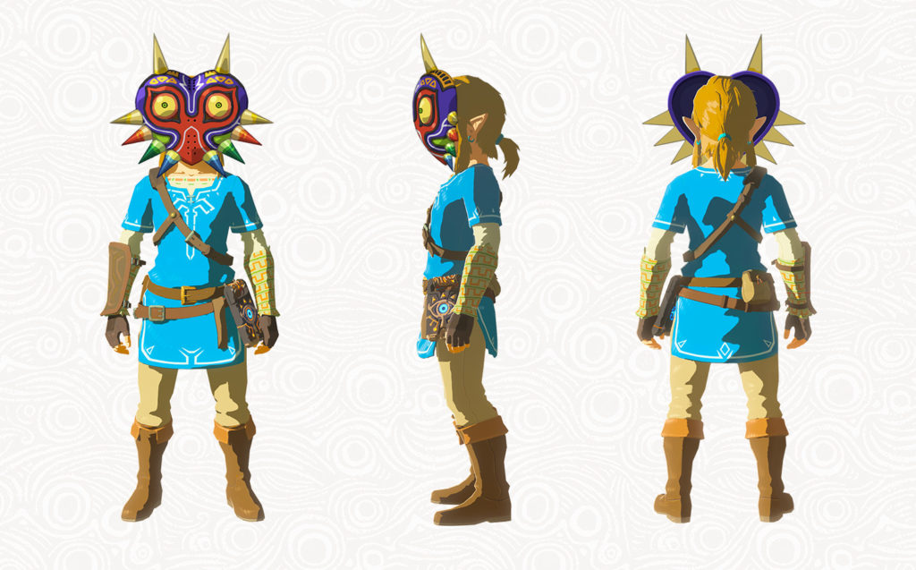 Breath of the Wild Pack DLC The Master Trials - Masque de Majora