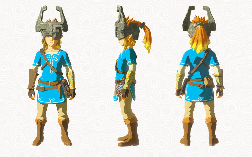 Breath of the Wild Pack DLC The Master Trials - Masque de Midona