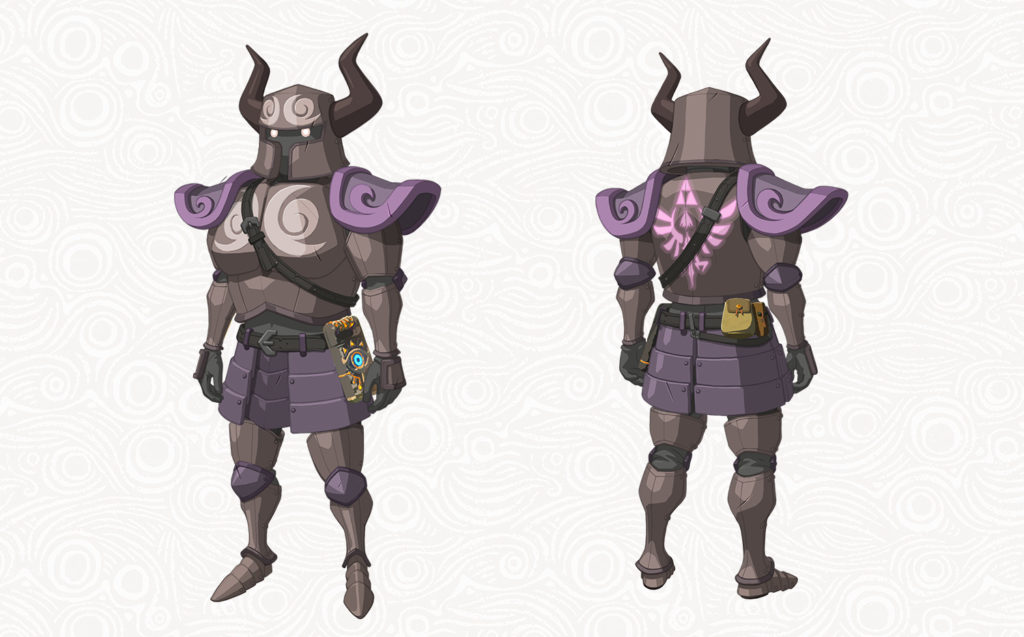 Breath of the Wild Pack DLC The Master Trials - Tenue de Spectre