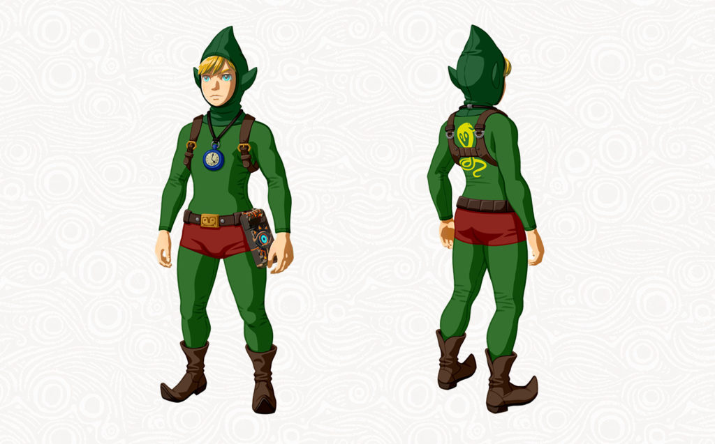 Breath of the Wild Pack DLC The Master Trials - Tenue de Tingle