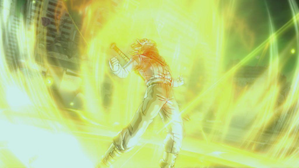 Dragon Ball Xenoverse 2 Trunks Super Saiyan Rage