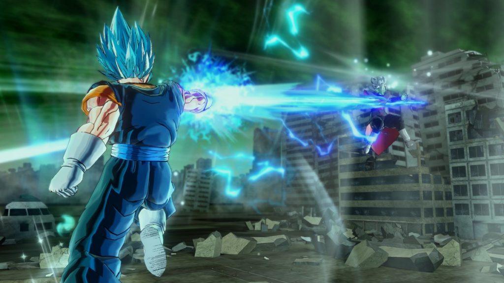 Dragon Ball Xenoverse 2 Vegetto Blue