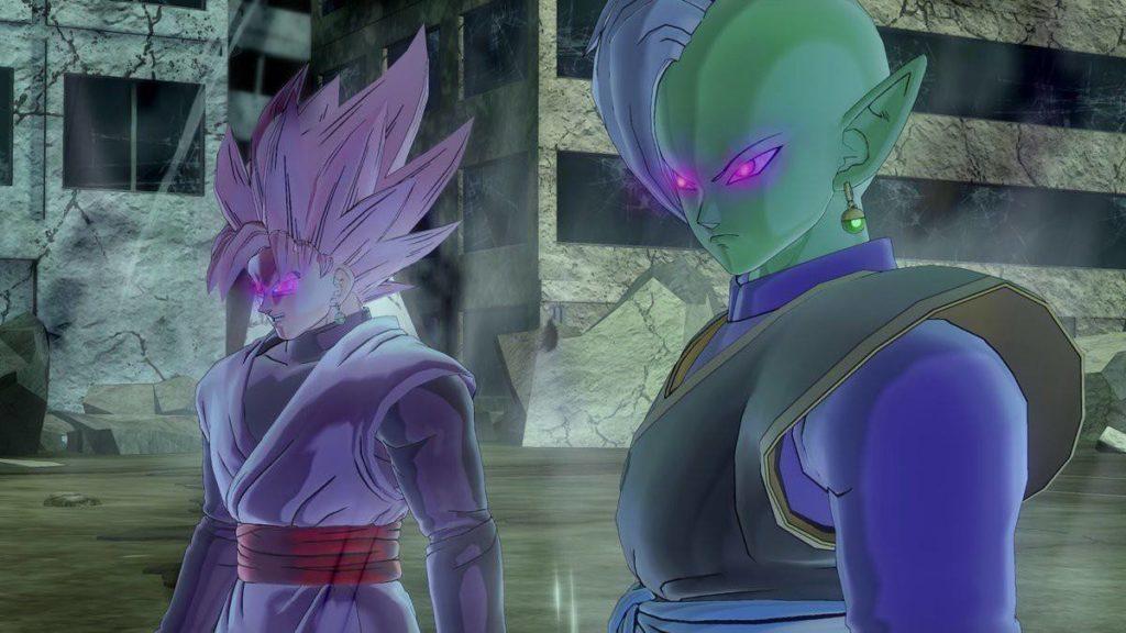 Dragon Ball Xenoverse 2 Zamasu et Goku Black