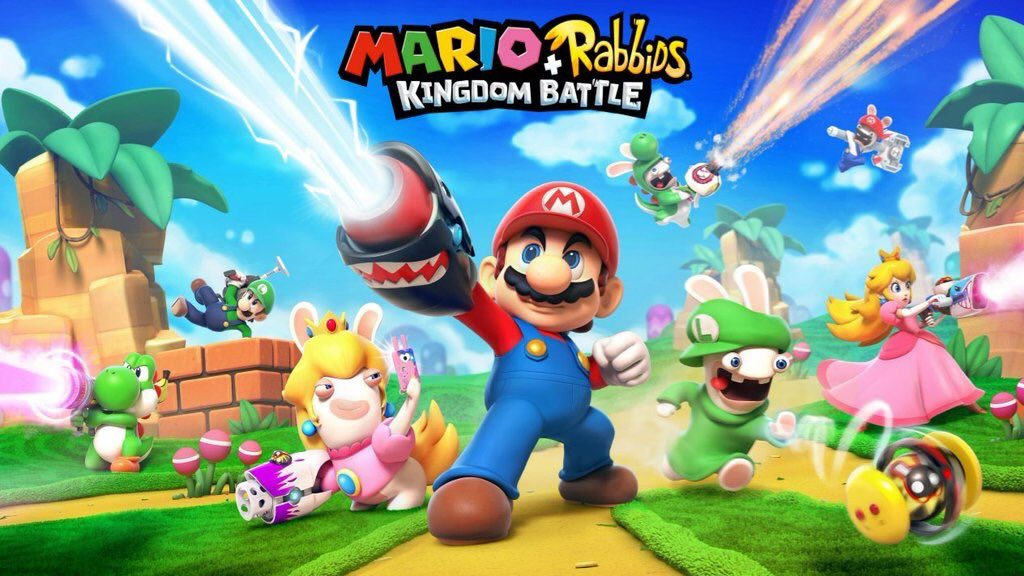Switch Mario Rabbids Kingdom Battle
