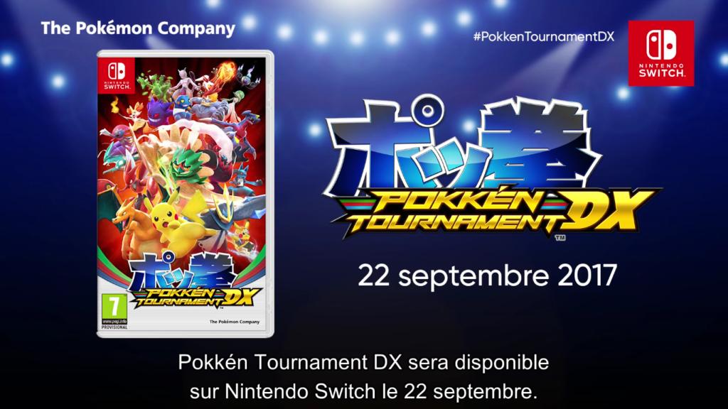 Pokémon Direct Pokken Tournament DX Date de Sortie