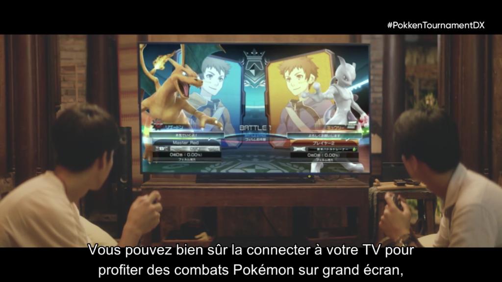 Pokémon Direct Pokken Tournament Téléviseur