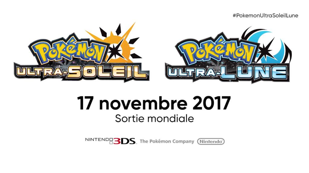 Pokémon Direct Ultra-Soleil Ultra-Lune Date de sortie