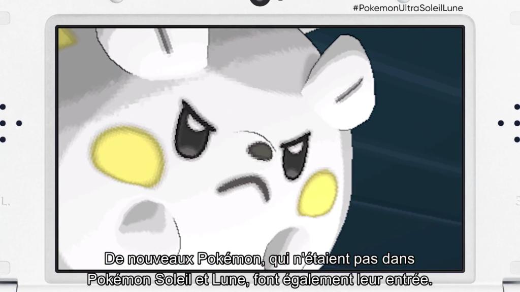 Pokémon Direct Ultra-Soleil et Ultra-Lune Nouveaux Pokémons