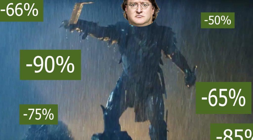 Gabe soldes Steam