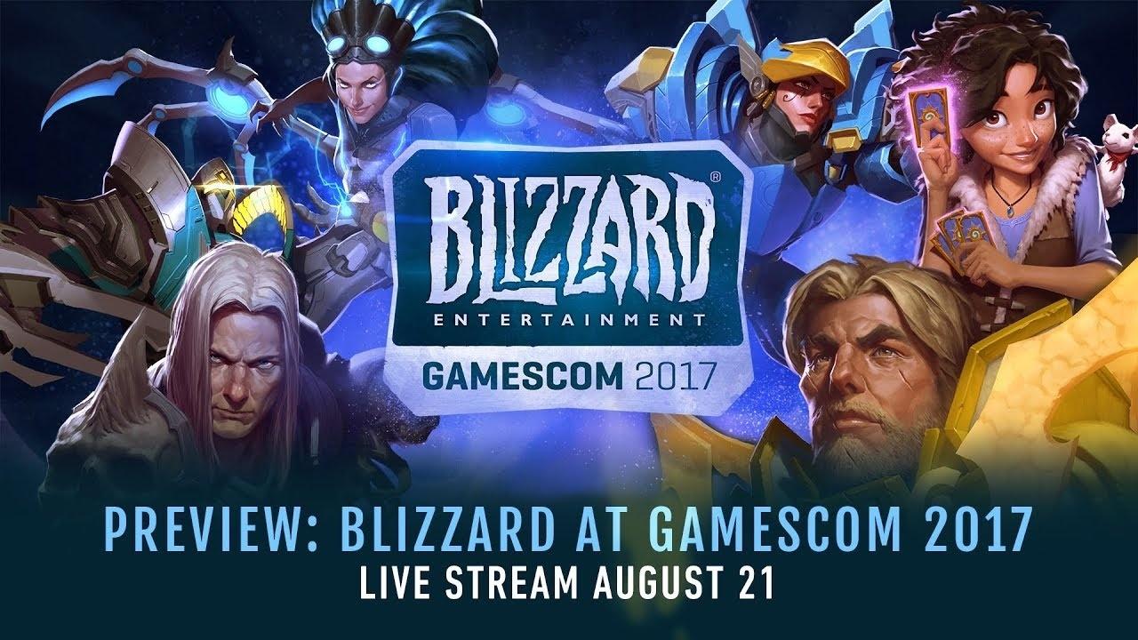 Gamescom 2017 conf rence blizzard l 39 motion par for Cuisinier wow guide