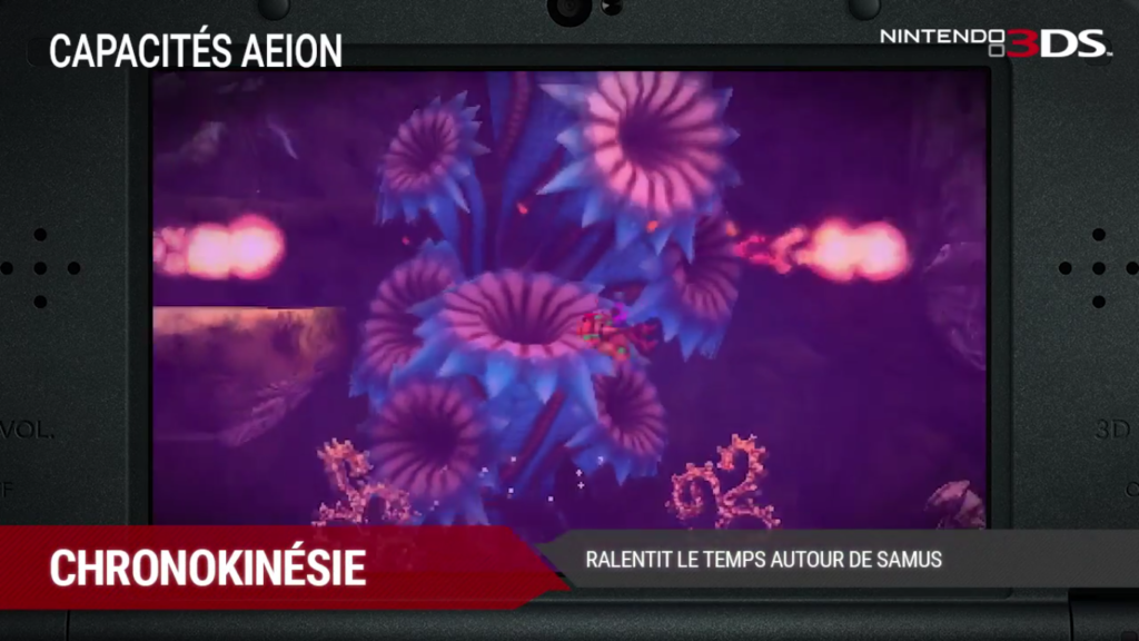 Metroid: Samus Returns Chronokinésie