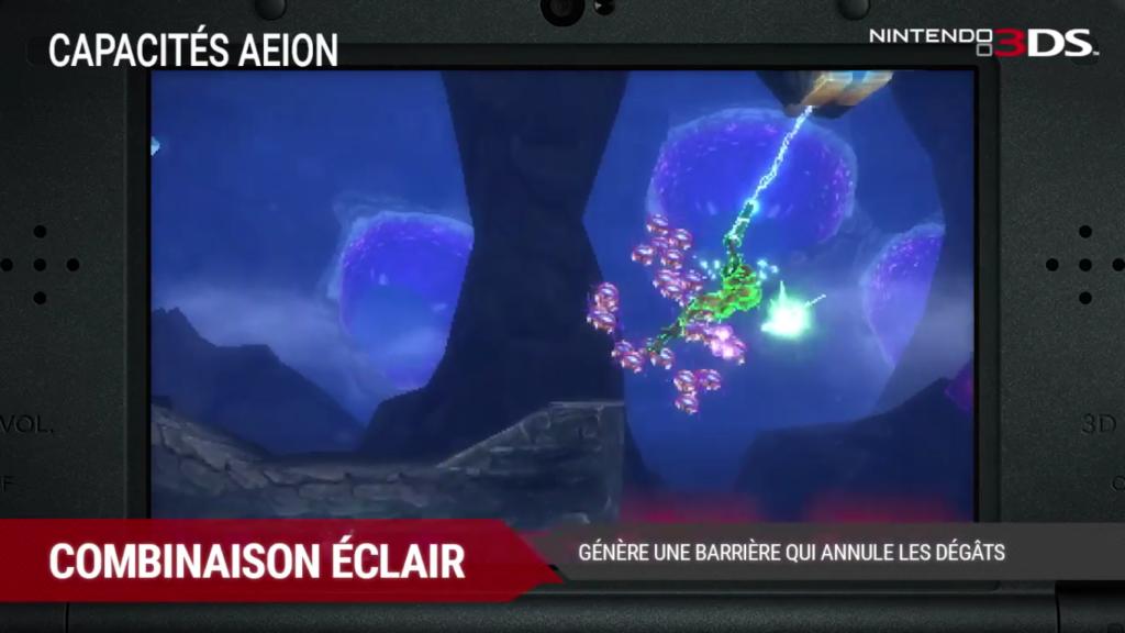 Metroid: Samus Returns Combinaison Éclair