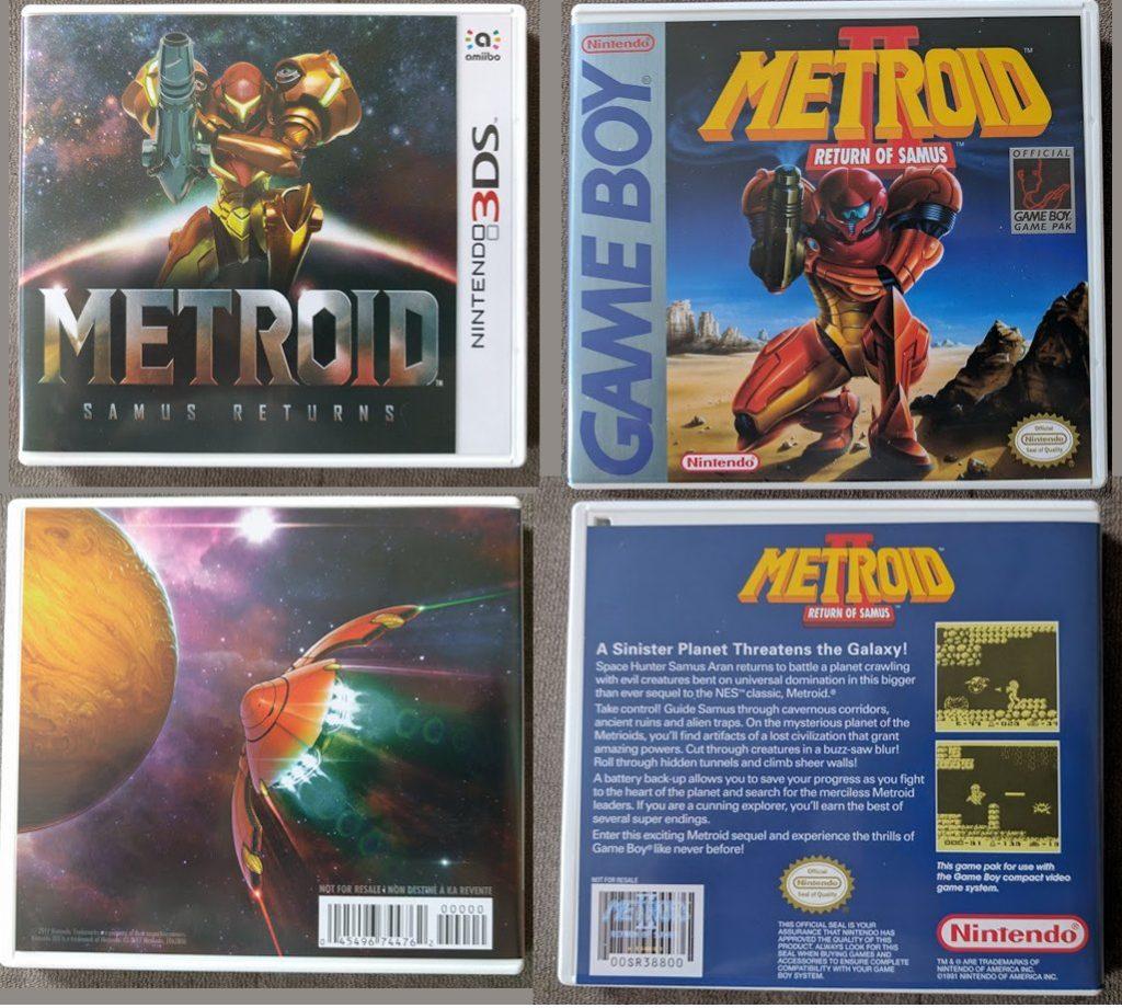 Metroid: Samus Returns Jaquette
