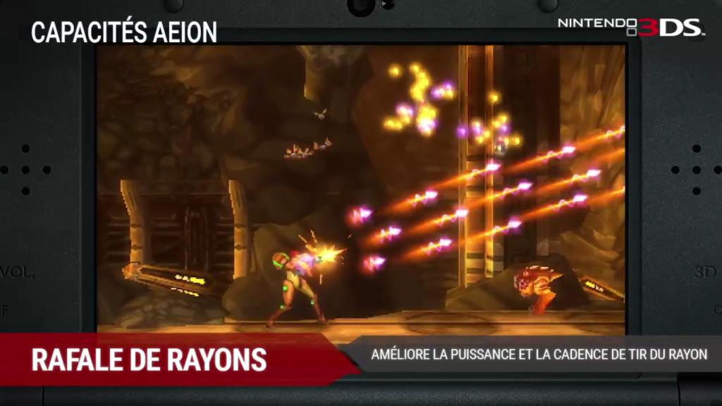 Metroid: Samus Returns Rafale de Rayons