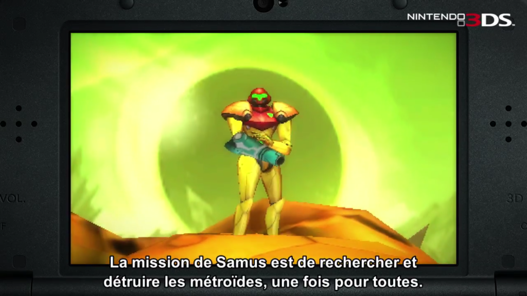 Metroid: Samus Returns Samus
