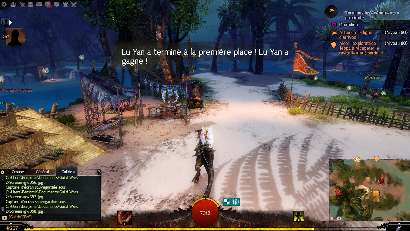 Guild Wars 2 - Path of Fire Course de Raptor