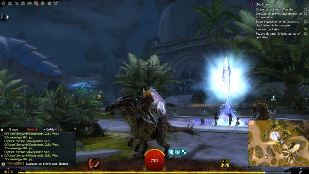 Guild Wars 2 - Path of Fire Raptor Arche du Lion