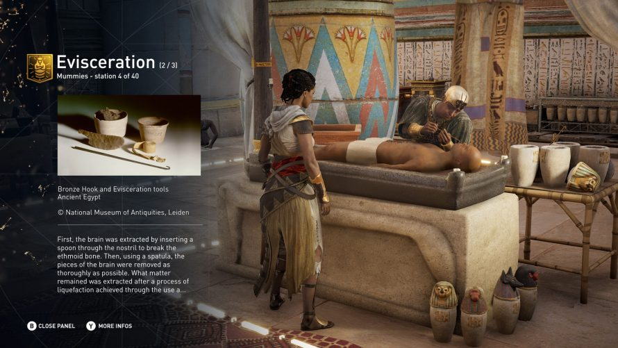 Assassin's Creed Origins evisceration