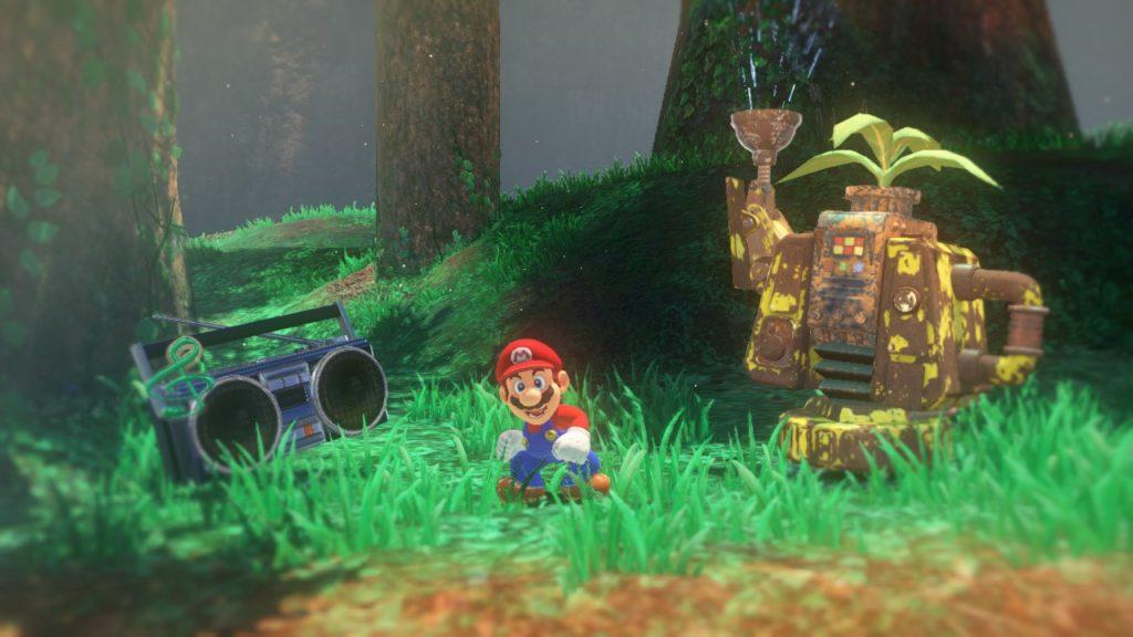 Super Mario Odyssey Monde forestier