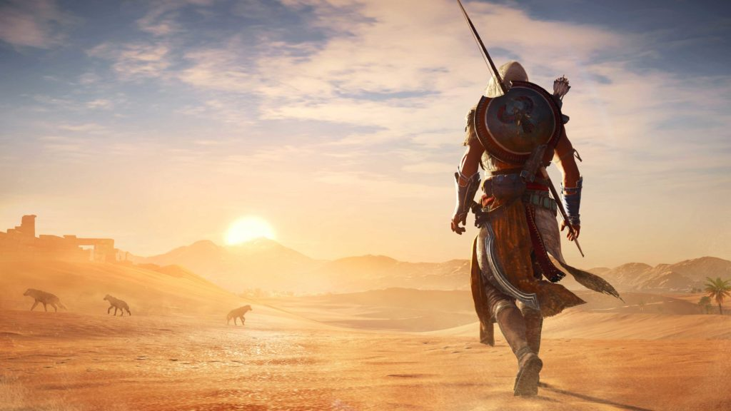 Assassin's Creed Origins paysage