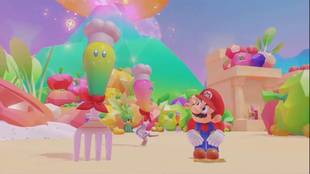 Super Mario Odyssey Monde de nourriture