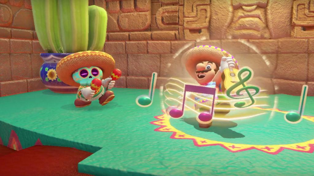 Super Mario Odyssey Monde du désert