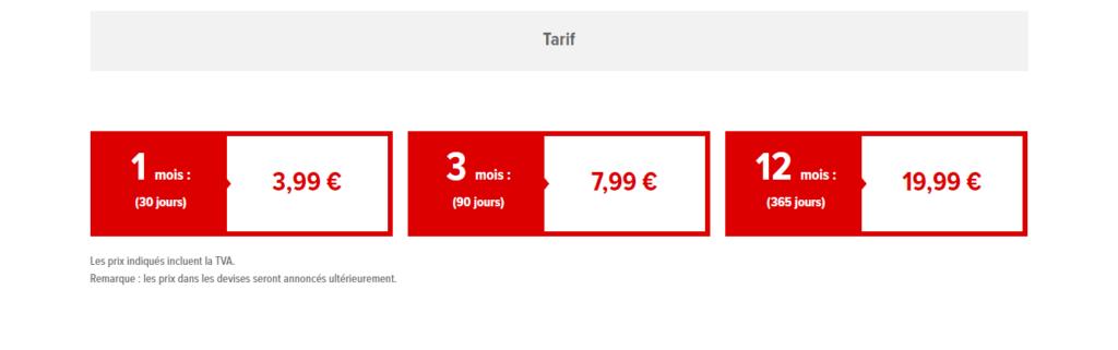 Nintendo Switch Online Tarif