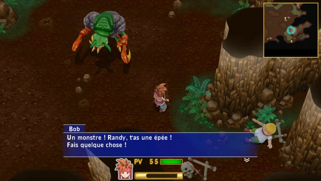 Secret of Mana Remake Mantides