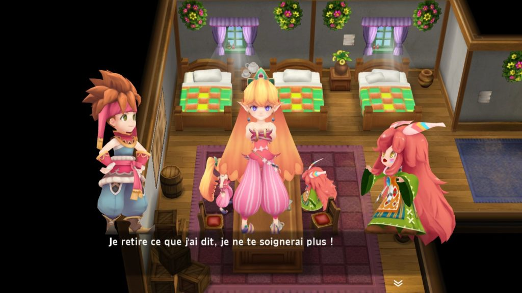 Secret of Mana Remake - ne jamais vexer le heal !