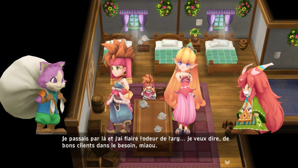 Secret of Mana Remake Chacha