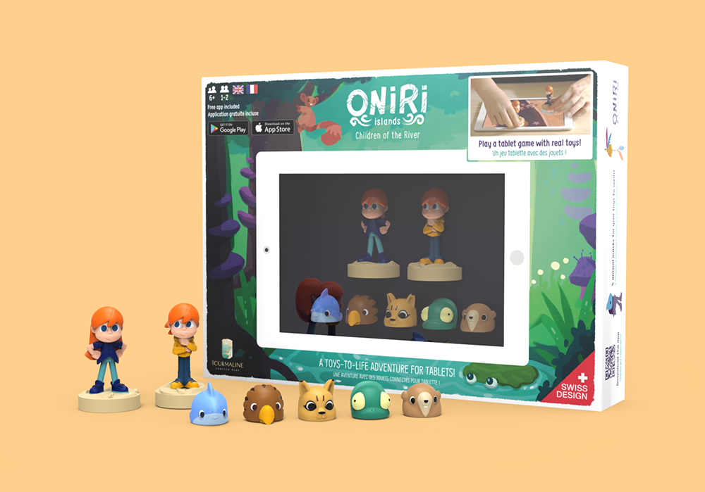 Oniri Islands : Children of the River boîte du jeu