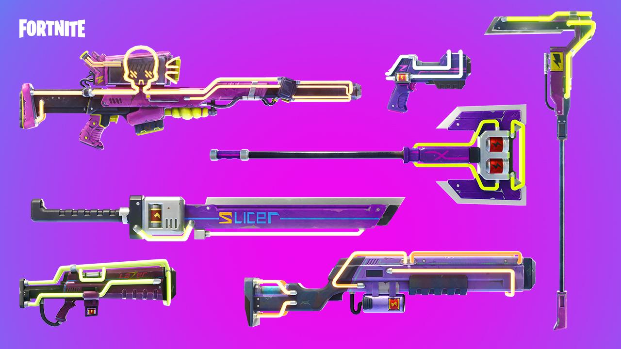 patch 3.5 armes néons