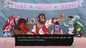 Monster Prom The six