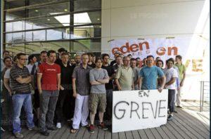 Syndicat : Les employés d'Eden games en grève