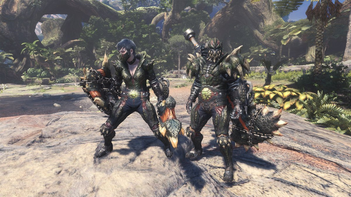 Monster Hunter World PC - Deviljho armures